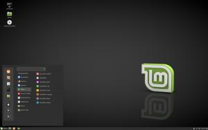 Linux Mint met Cinnamon desktopomgeving