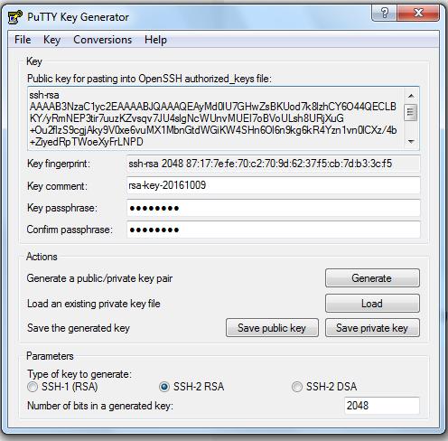 putty-key-generator